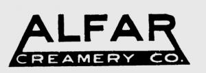 Alfar Creamery Logo