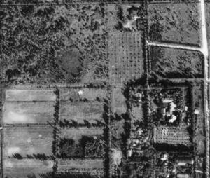 Aerial view Sandy Loam Farms