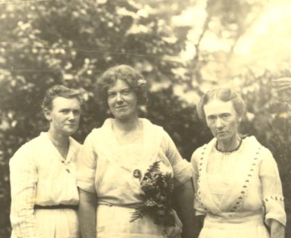 Three women in photo
