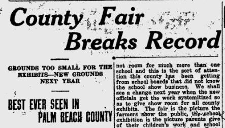 1921 County Fair