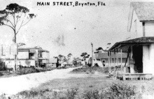 Ocean Avenue in 1910