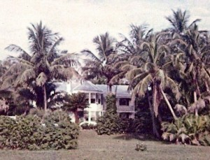 The Dewey-Baldwin House in the 1950s